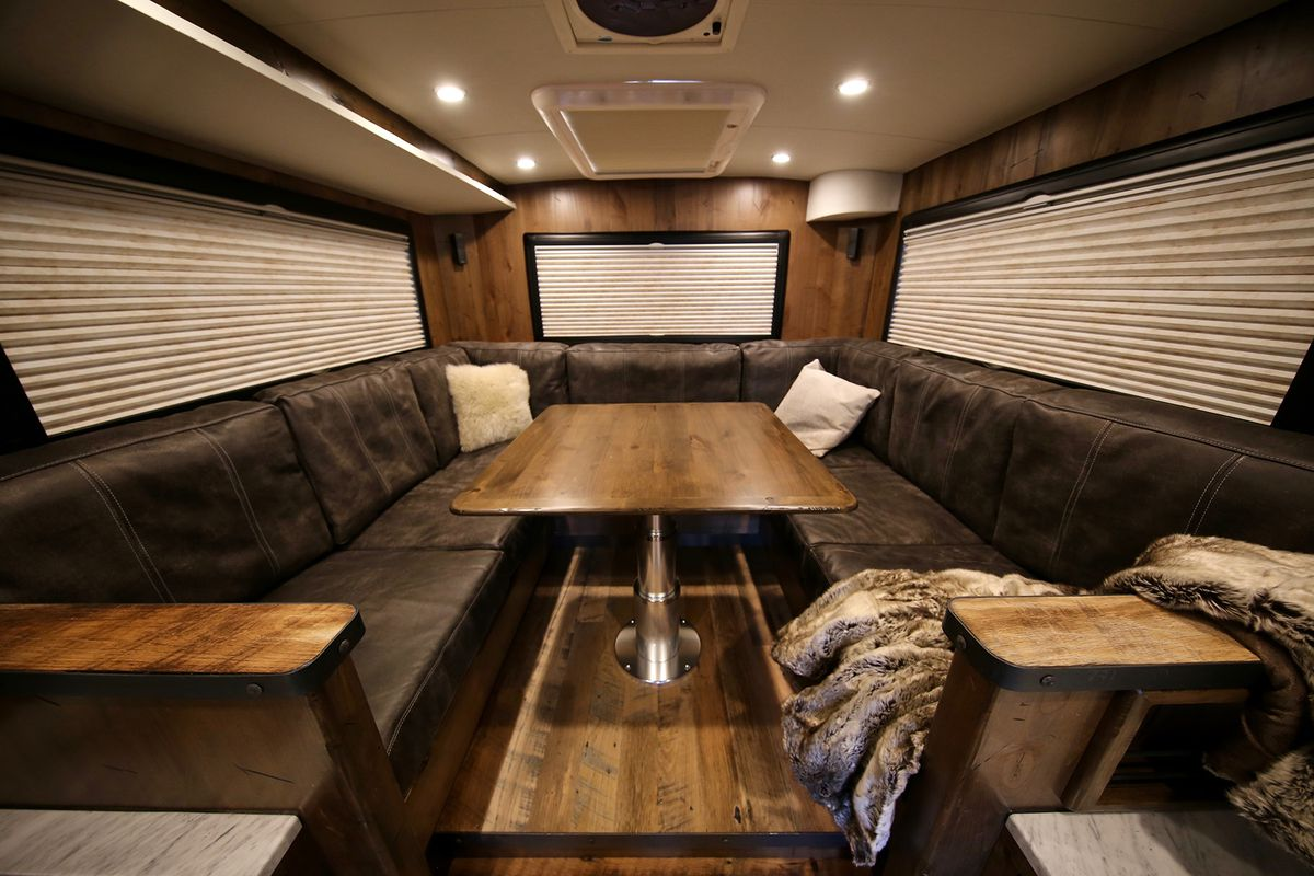 1 5m Earthroamer Xv Hd Is A Go Anywhere Cabin On Wheels