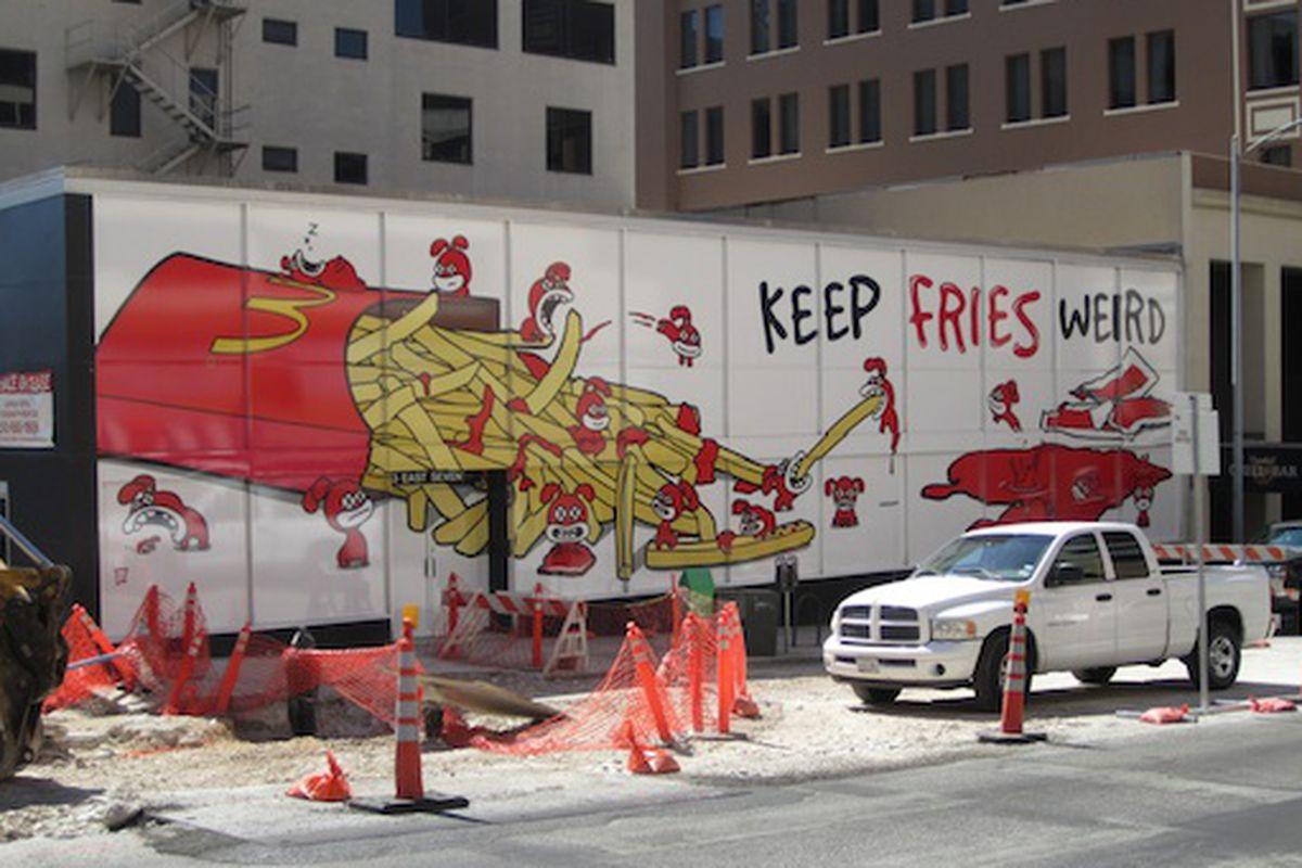 Keep Fries Weird.