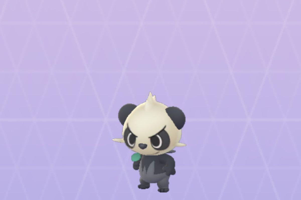 Pancham in Pokemon Go