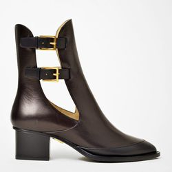 """Maiyet open side double buckle boots, <a href=""""http://shopbird.com/product.php?productid=29879&cat=639&manufacturerid=&page=1"""">$795</a> at Bird"""