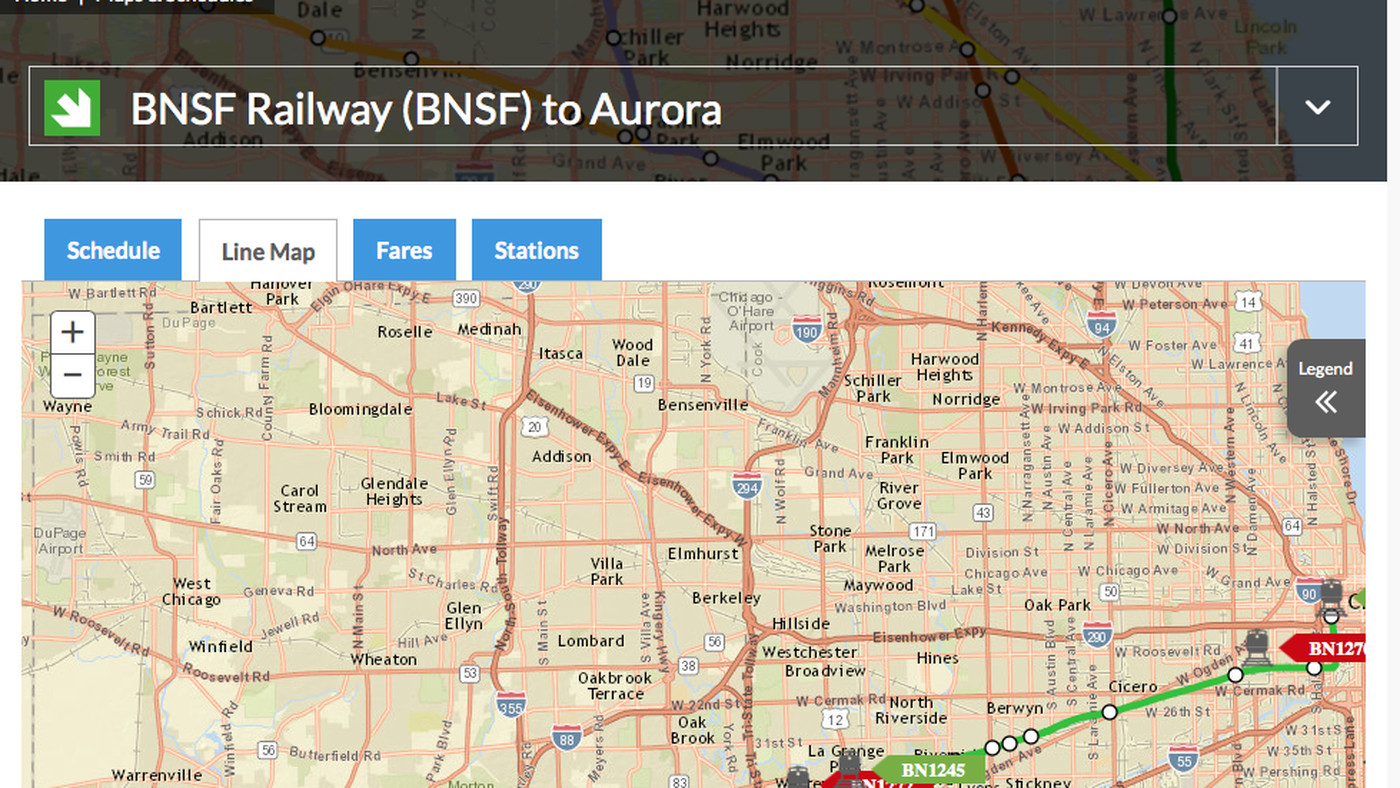 Metra upgrades website, adds real-time info on train