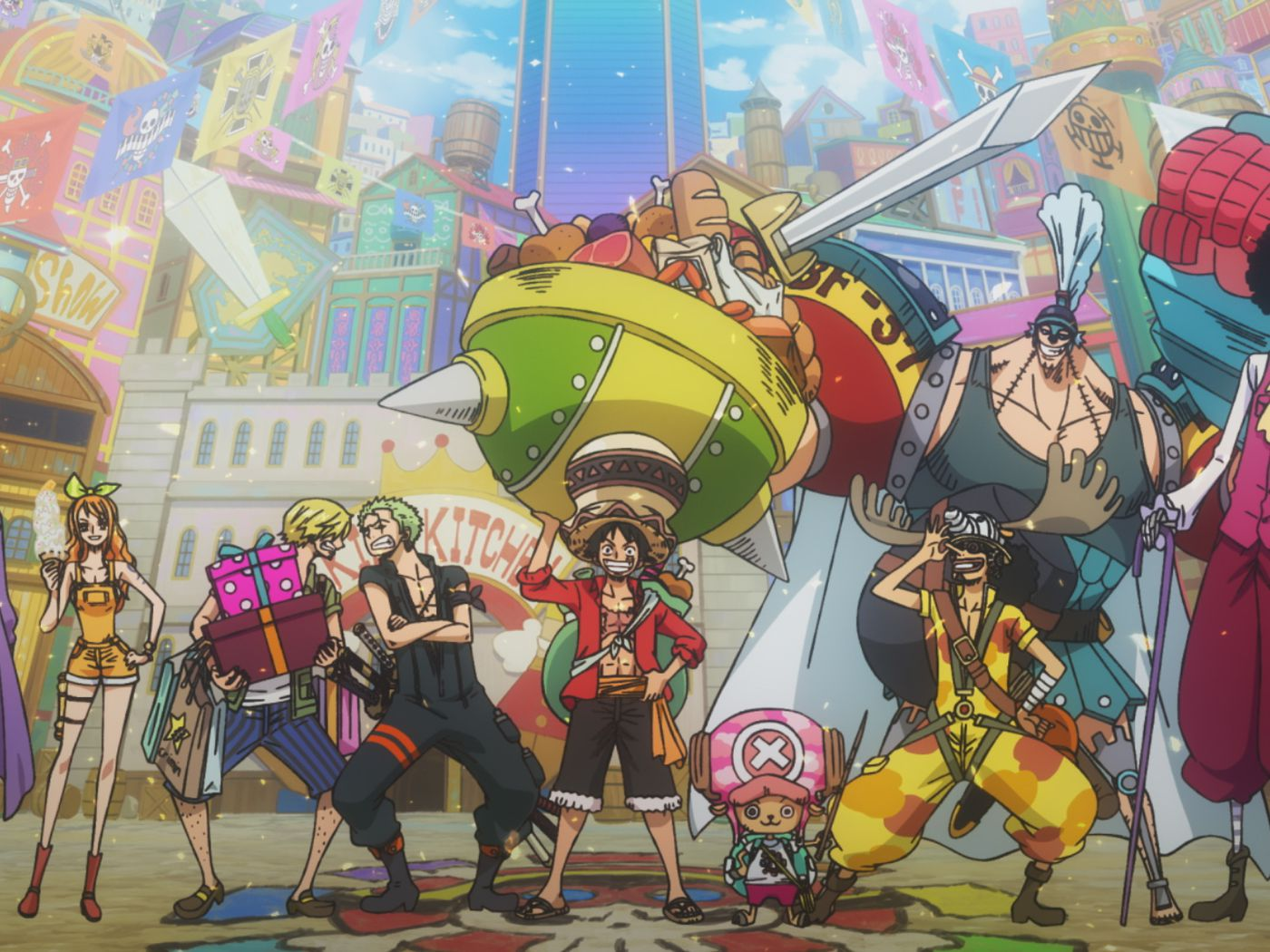 Revew: One Piece: Stampede