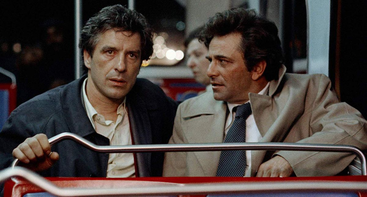 "De izquierda a derecha, John Cassavetes y Peter Falk en ""Mikey and Nicky""."