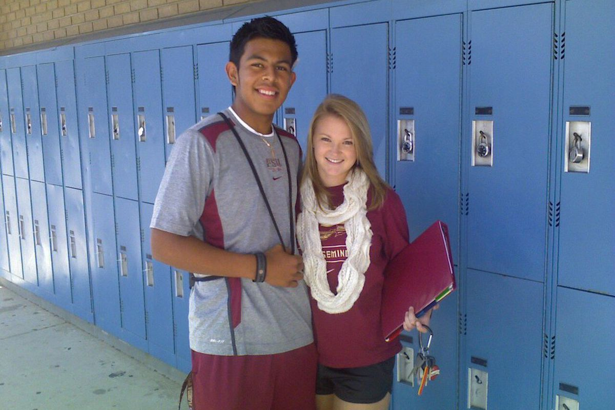 Roberto Aguayo, Florida State's 2012 kicker/punter commitment from South Lake High School.