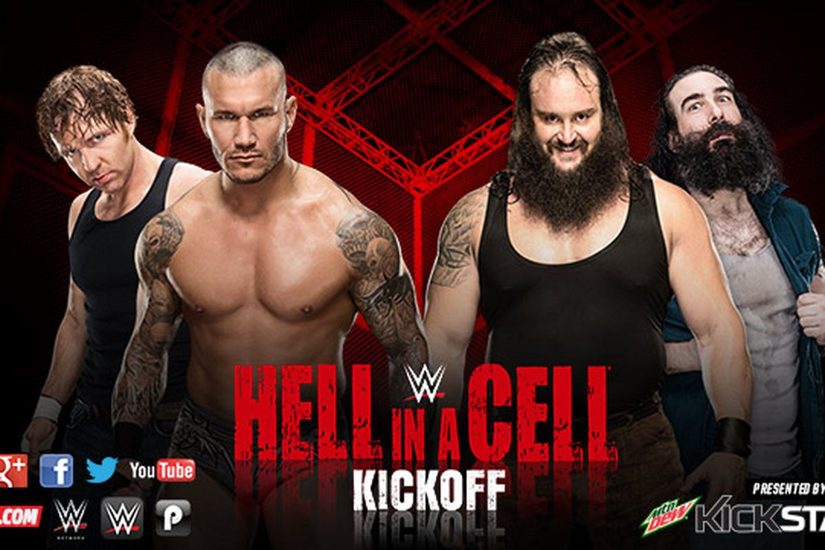 WWE Hell in a Cell 2015: Dean Ambrose & Randy Orton vs