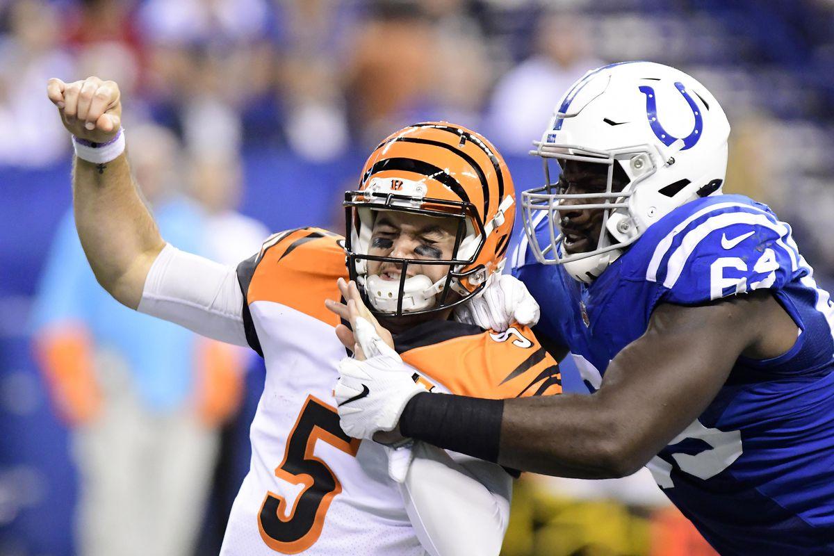 NFL: Cincinnati Bengals at Indianapolis Colts
