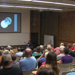 At the Wednesday, June 21, 2017, meeting of the Salt Lake Astronomical Society, several eclipse chasers were in attendance. Many Utah residents are likely to drive to Idaho and Wyoming for the August event.