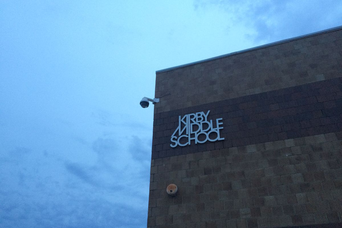 Kirby Middle is one of four Memphis schools transitioning into the Achievement School District next school year, setting the stage for an enrollment battle between the state-run district and Shelby County Schools.