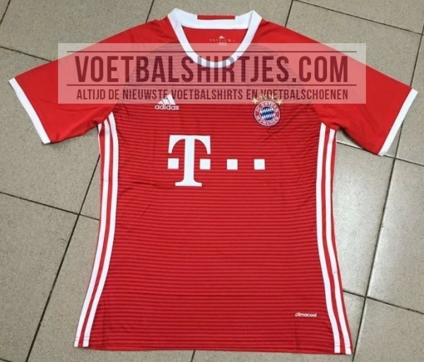 4ac9fb178 KIT LEAK  Photos of Bayern Munich 2016-17 Adidas jerseys - Bavarian ...