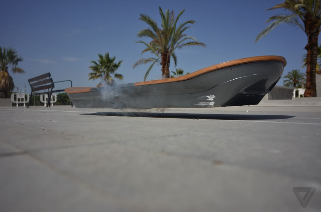 Water Hoverboard For Sale >> The Lexus hoverboard in photos | The Verge