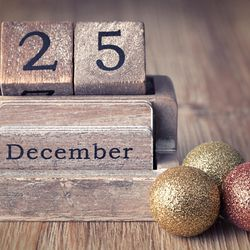 The 12 days of Christmas actually begin on Christmas Day, Dec. 25, and end on Jan. 6.