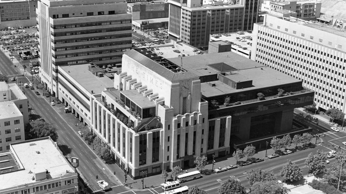 The short history of the Los Angeles Times Curbed LA