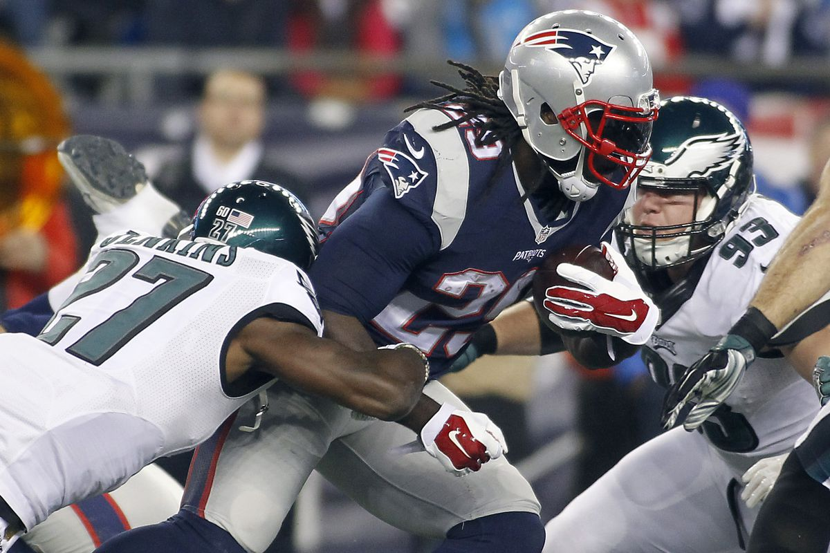 LeGarrette Blount knows how to hold on to the football