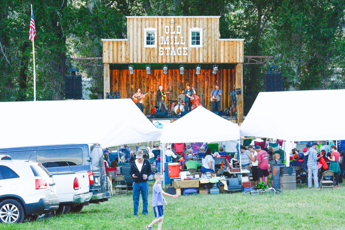 This year's annual Wasatch Mountain Music Festival in Wallsburg, Wasatch County, on July 9-11 will feature two champion bluegrass bands, Salt Licks and String Fever, that haven't played together in a quarter century.