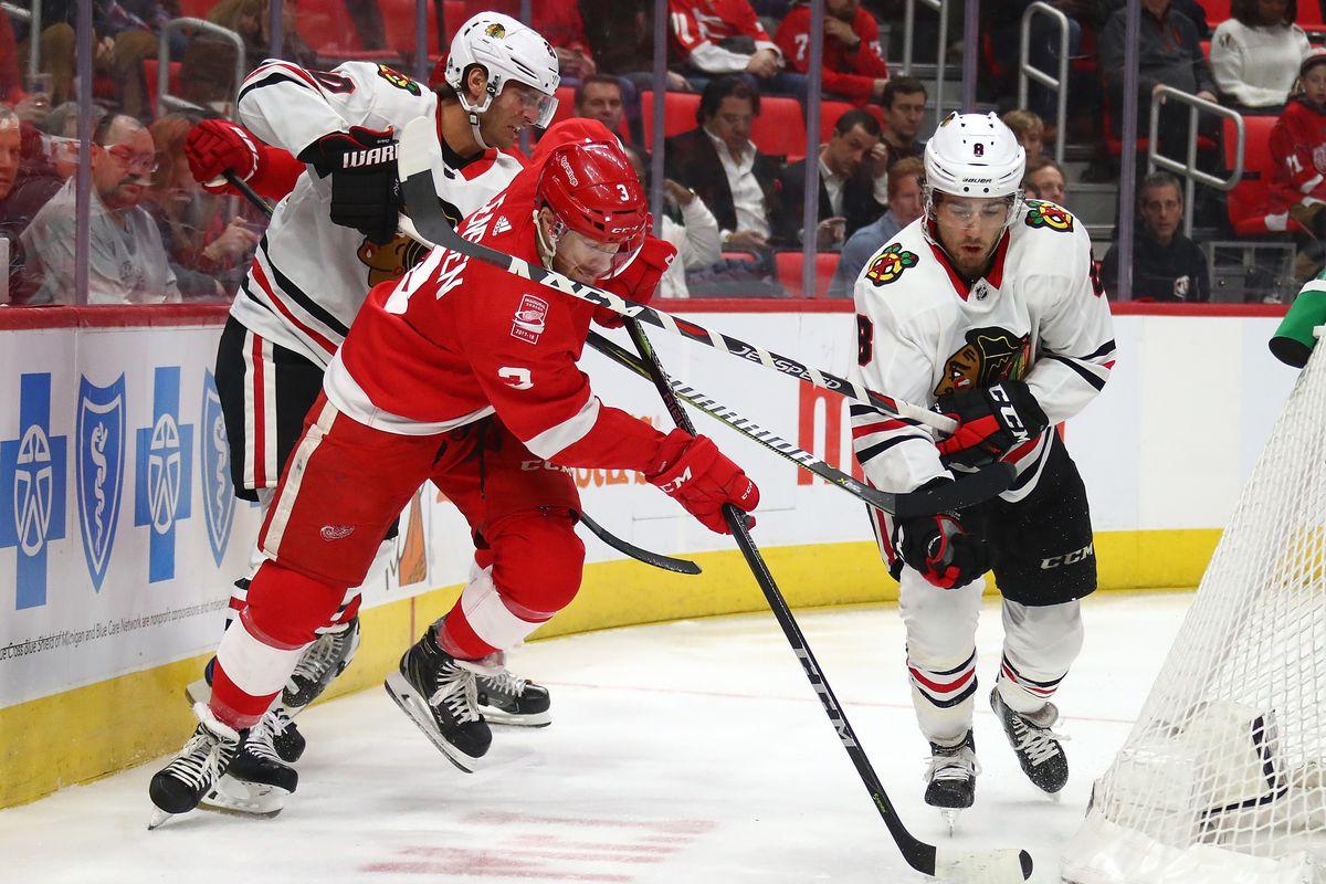Chicago Black Hawks v Detroit Red Wings