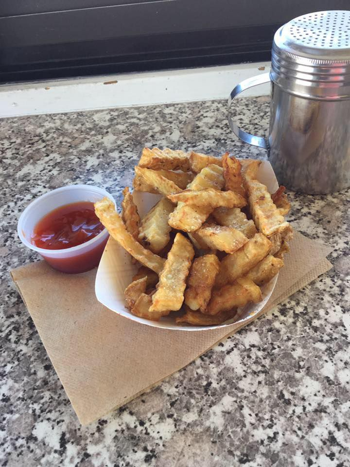 Bolley's Famous Franks' now-defunct crinkle-cut fries