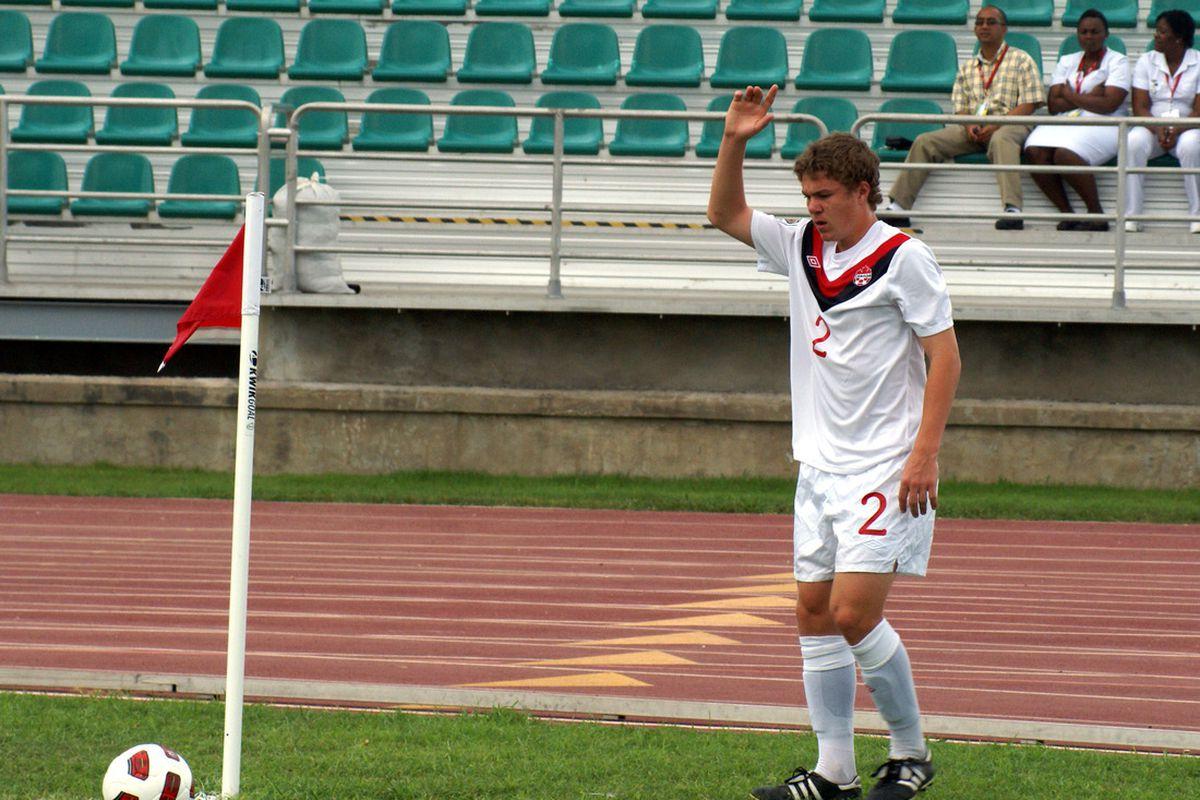 Samuel Piette at the CONCACAF U-17 championship. (Canadian Soccer Association)