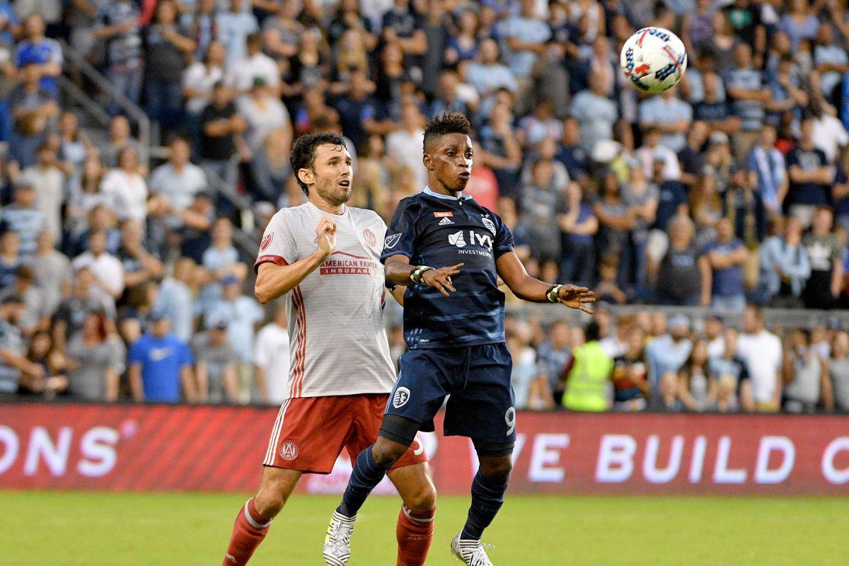 MLS: Atlanta United FC at Sporting KC