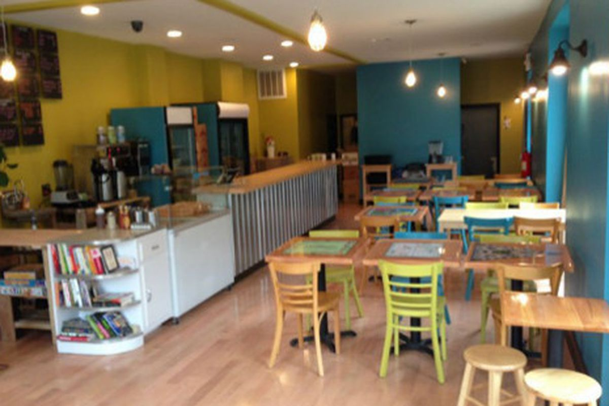 The new home of Breezy's Cafe