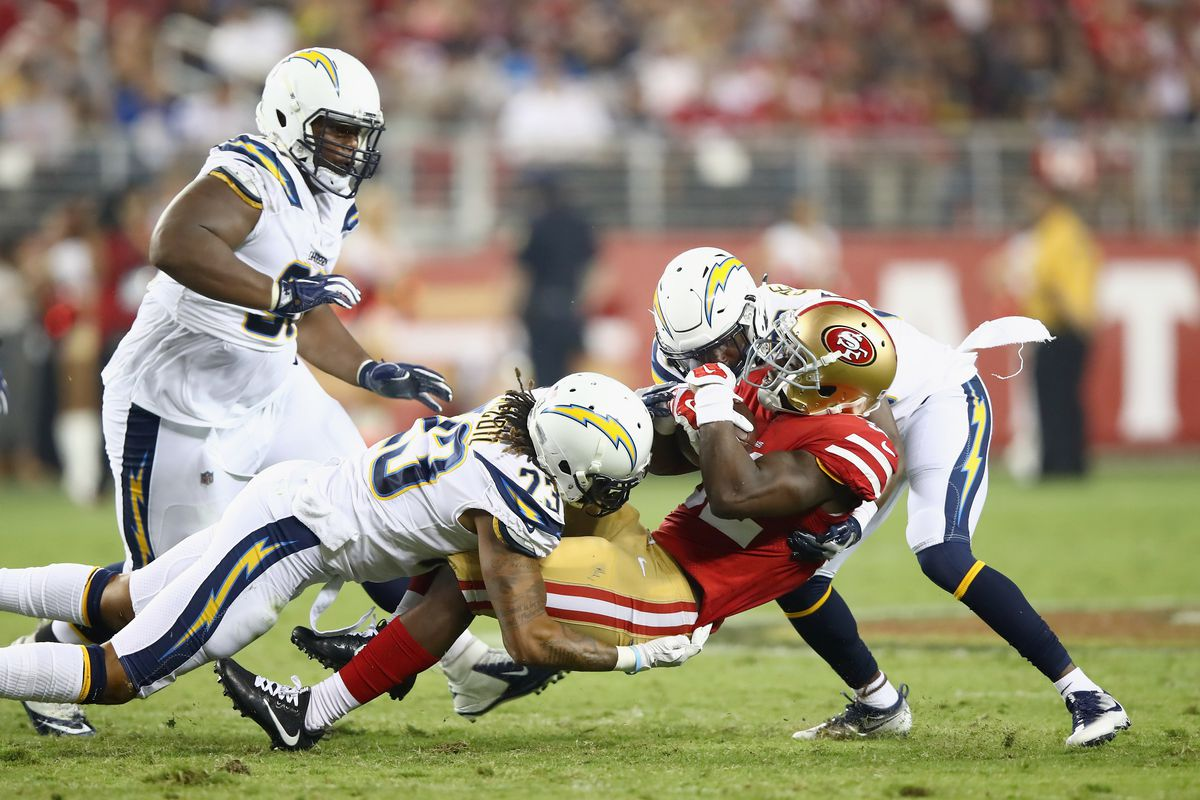 Chargers Vs 49ers Game Time Tv Schedule Online