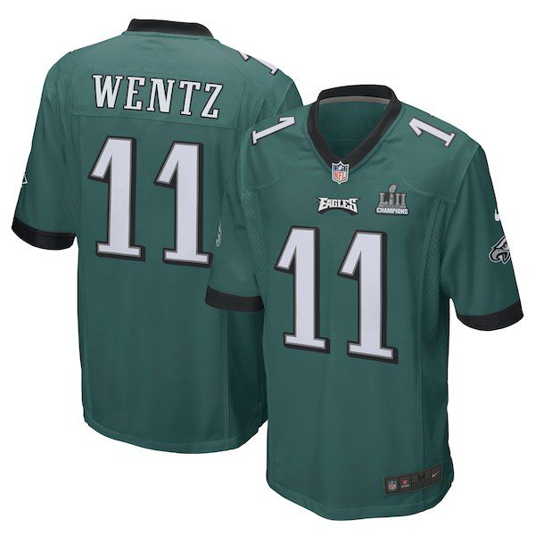 new style 990b6 1ff83 Carson Wentz Nike Super Bowl LII Champions Patch Jersey for  119.99 Fanatics