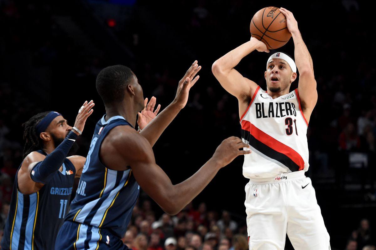 NBA: Memphis Grizzlies at Portland Trail Blazers