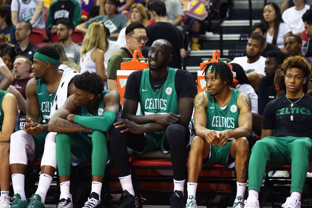 Boston Celtics Training Camp Roster Re-set Tacko Fall Roster Battle Javonte Green