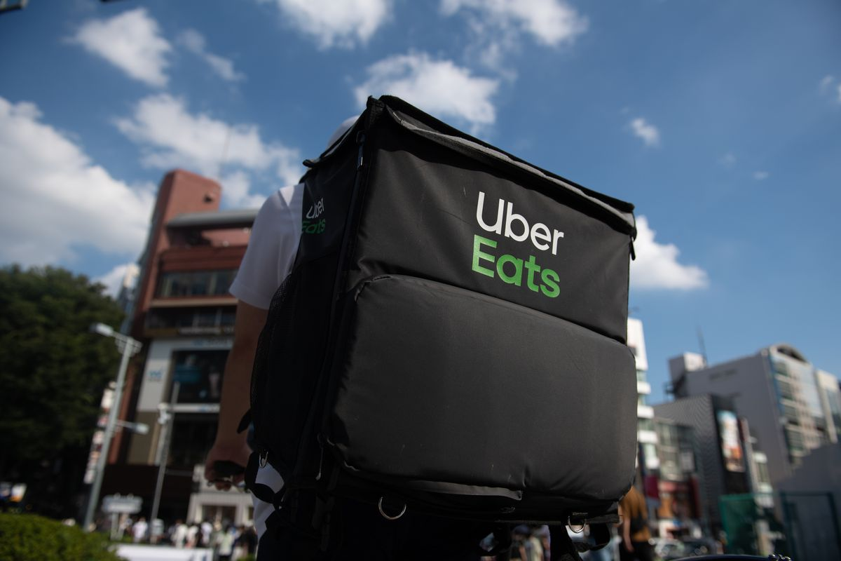 Uber Japan Couriers As Olympic Games Boost Foot-delivery Operators