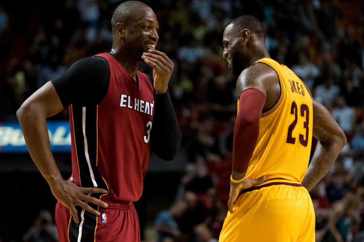 best sneakers 9593a bd21b LeBron James better start hating Dwyane Wade and the Heat ...