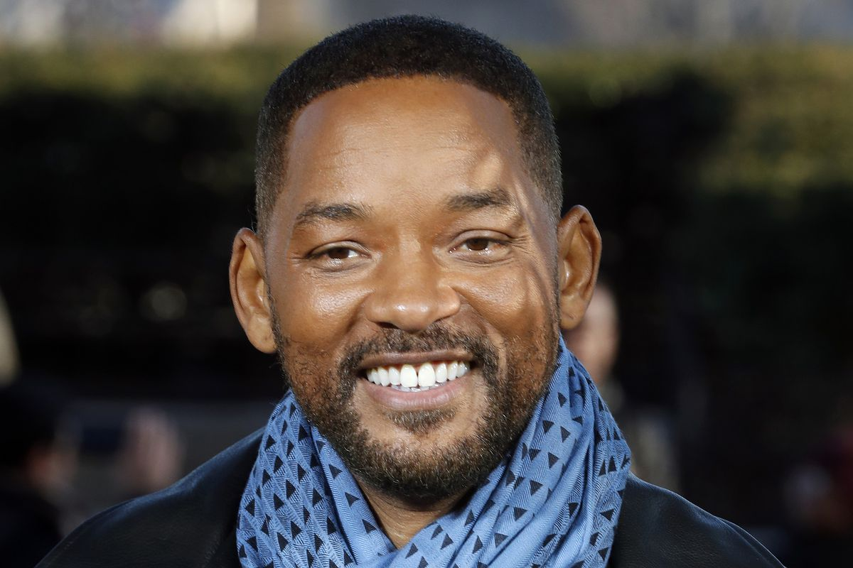 """In this Monday, Jan. 6, 2020, file photo, U.S actor Will Smith poses for photographers during the photo call of """"Bad Boys for Life,"""" in Paris. Smith says he was """"humbled and honored"""" after rapper Joyner Lucas released a tribute song honoring his career work."""