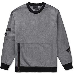 """<strong>3.1 Phillip Lim</strong> Zip-Detailed Pullover in Heather Grey, <a href=""""http://www.saksfifthavenue.com/main/ProductDetail.jsp?FOLDER%3C%3Efolder_id=2534374306418203&PRODUCT%3C%3Eprd_id=845524446609029&R=883965816219&P_name=3.1+Phillip+Lim&N=30641"""