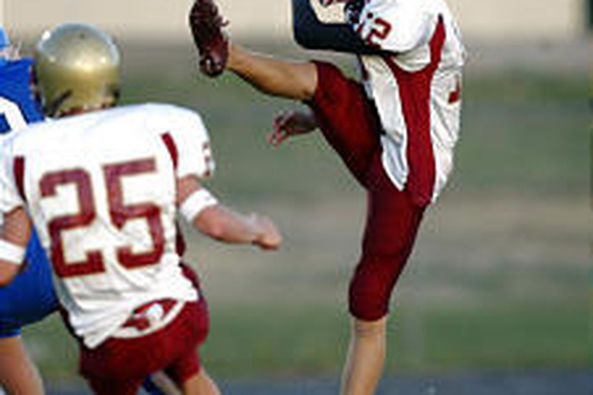 A strong punter as evidenced last year, Mountain View's Brian Smith is drawing praise for his placekicking.