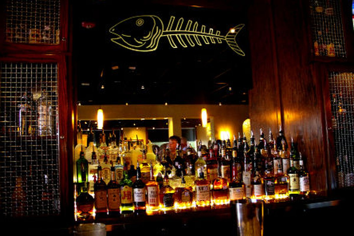 Bonefish's bar in Webster