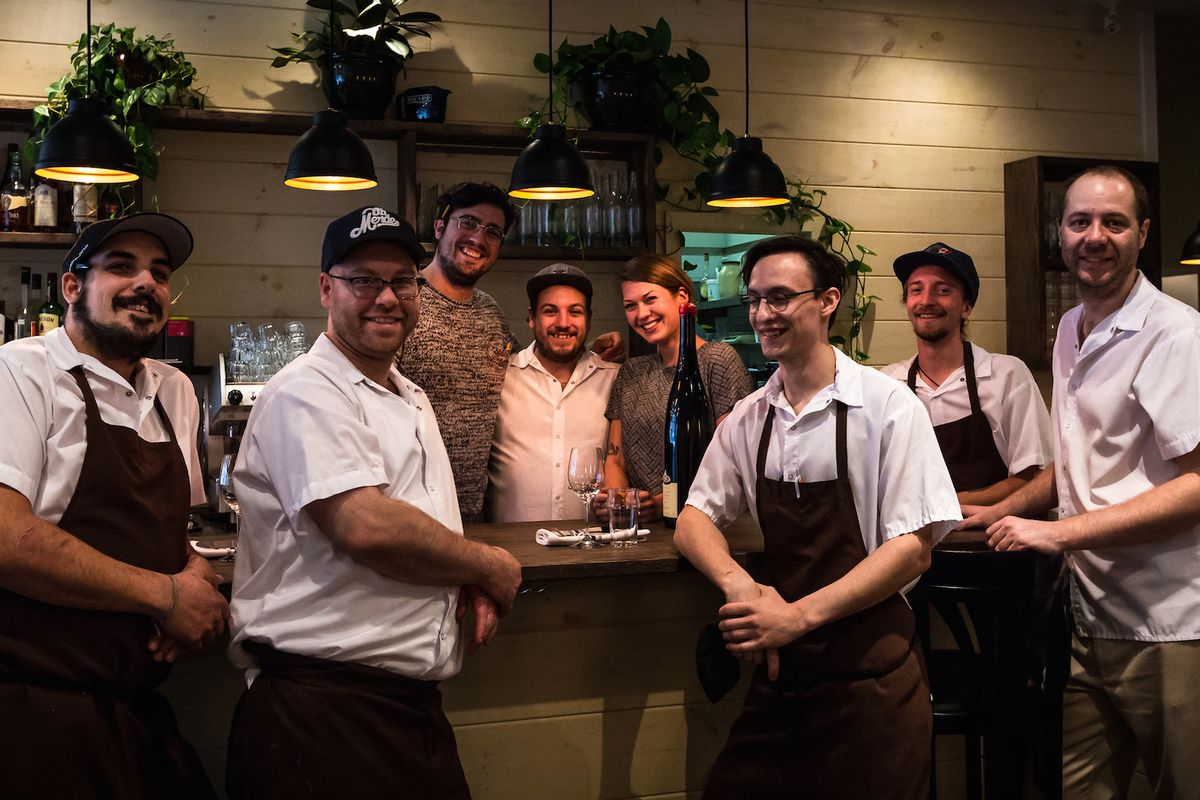 The team at Les Fillettes