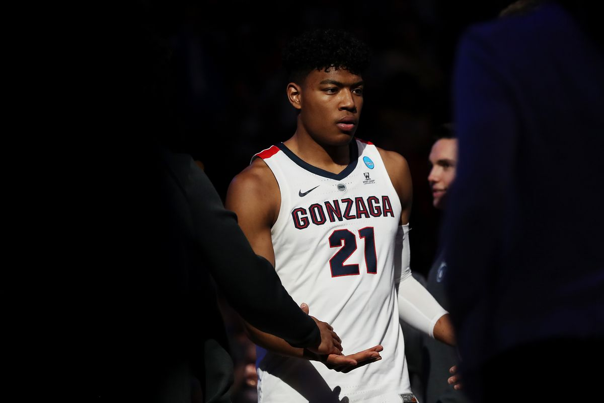 How did Wizards F Rui Hachimura develop at Gonzaga?