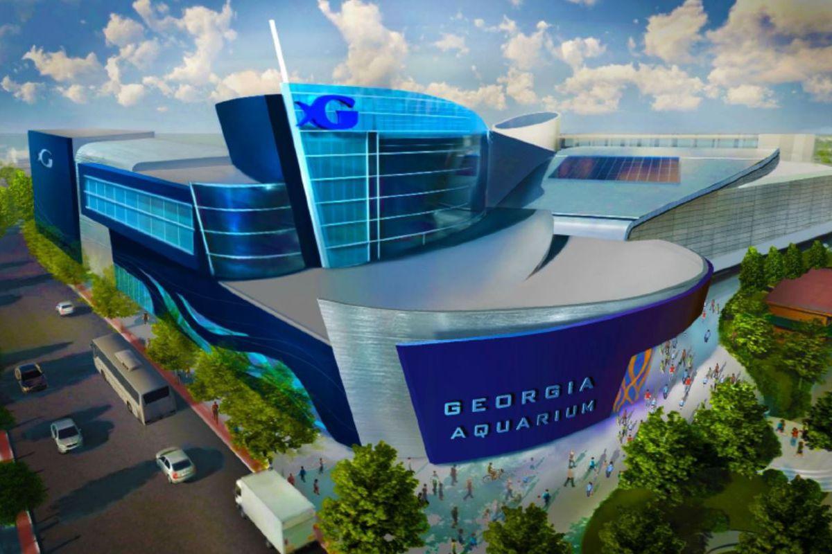 Visuals Released For Georgia Aquarium S 100m Expansion Curbed Atlanta