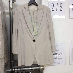Max Azria open back jacket, $131