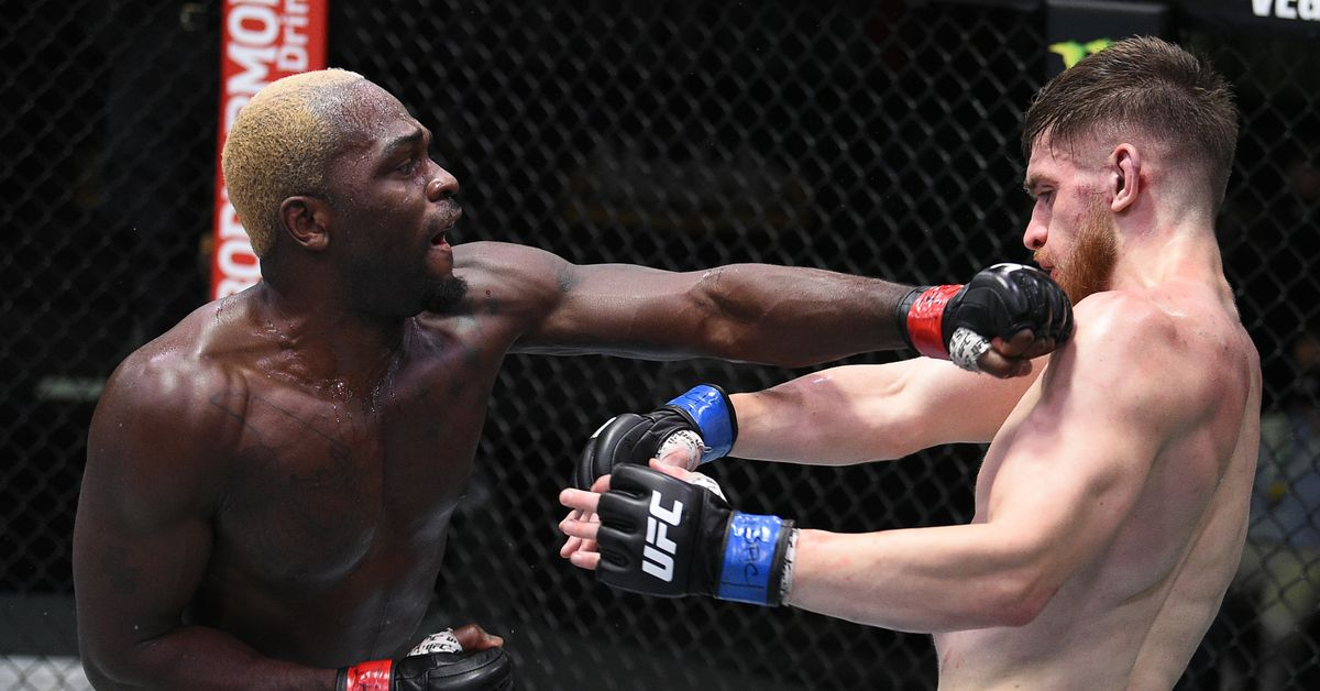 Derek Brunson vs. Edmen Shahbazyan full fight video highlights ...