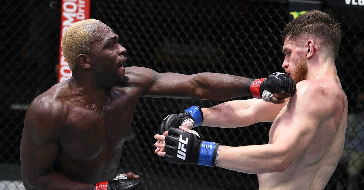 Derek Brunson vs. Edmen Shahbazyan full fight video highlights ...