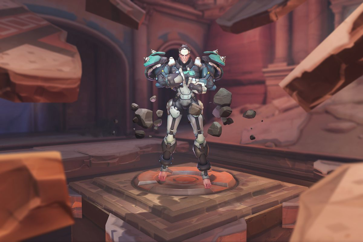 Overwatch's new hero, Sigma, has bare feet and people are