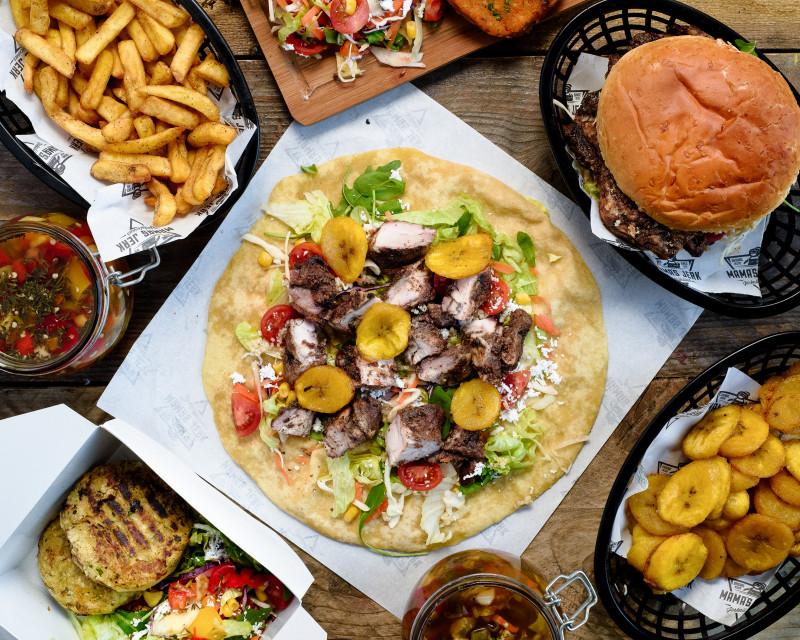 London's best Caribbean jerk: Mama's Jerk restaurant in Deptford