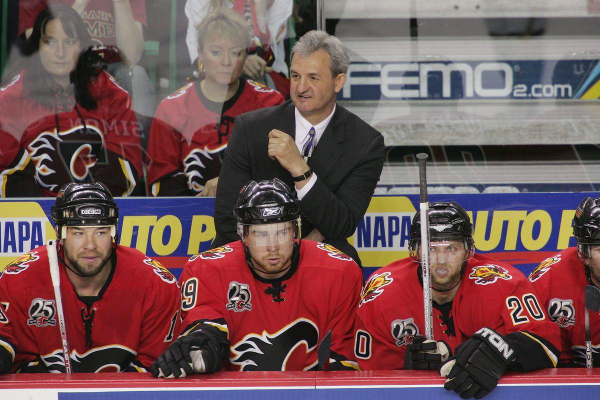 Anaheim Mighty Ducks v Calgary Flames