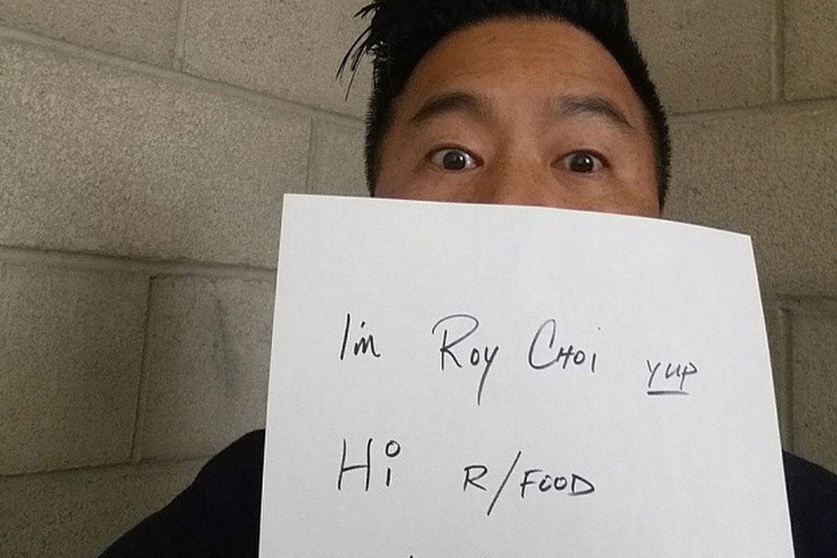 Roy Choi AMA