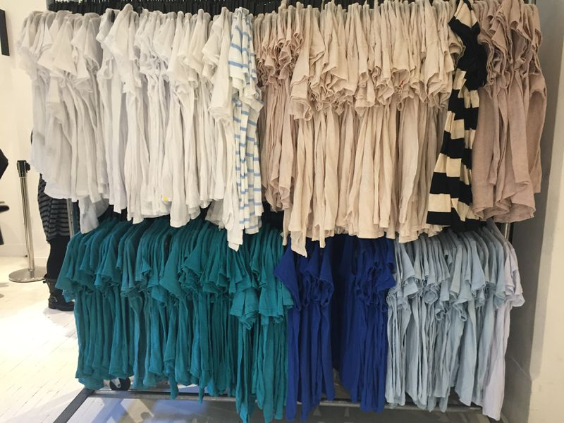 Basics Have Never Been Better at the James Perse Sample Sale ...