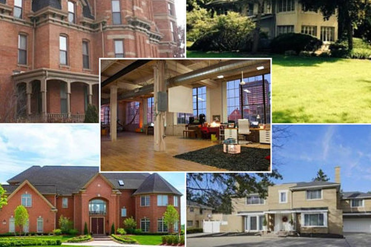 Below  you ll be able to discover the five most expensive homes currently  on the market  from a 10 bedroom. Inside the 5 Most Expensive Homes in Detroit Right Now   Curbed