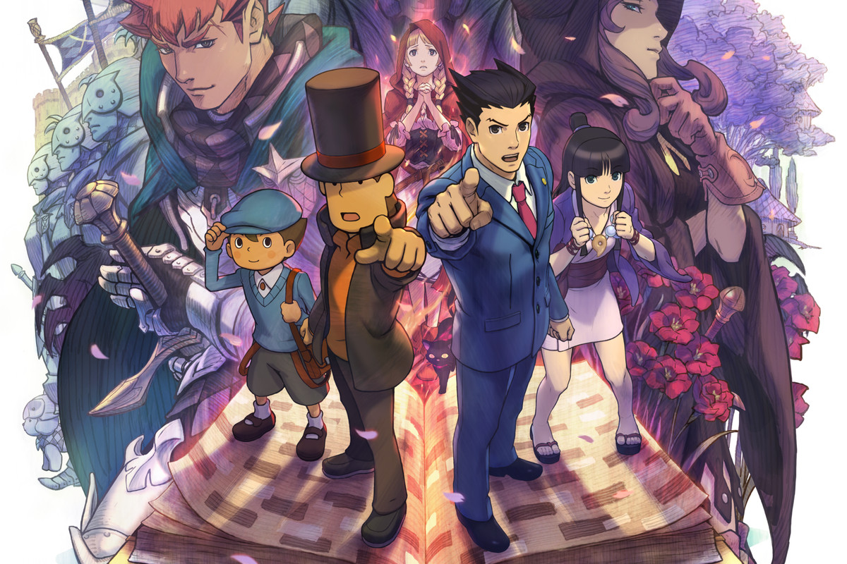 Professor Layton Vs Phoenix Wright Ace Attorney E3 Trailer