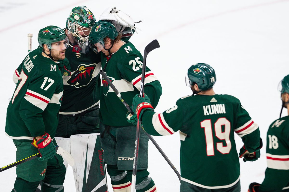Recap Wild Take Down Red Wings In Final Game Before All Star