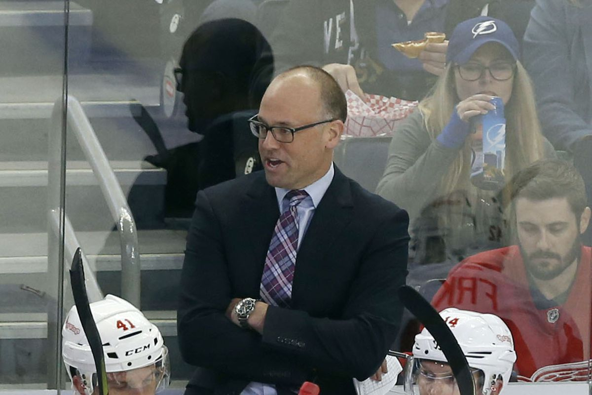 NHL: Detroit Red Wings at Tampa Bay Lightning