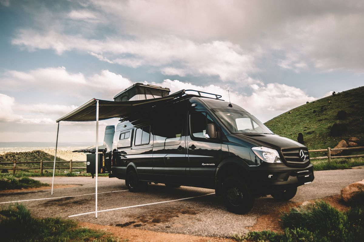 Sportsmobile Camper Van Can Sleep A Family Of 6 Curbed