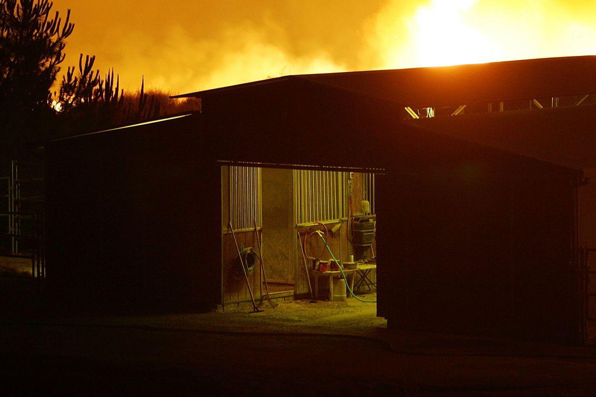 California Wildfires Rage Under High Heat Conditions